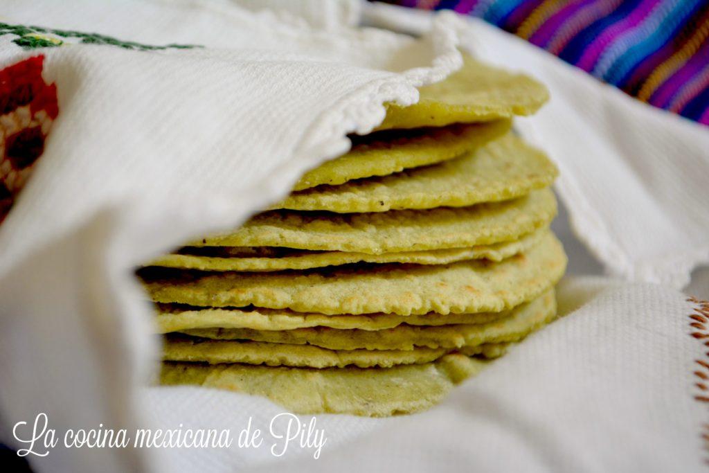 Tortillas de nopal